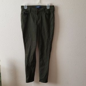 Army Green Old Navy Rockstar Jeans